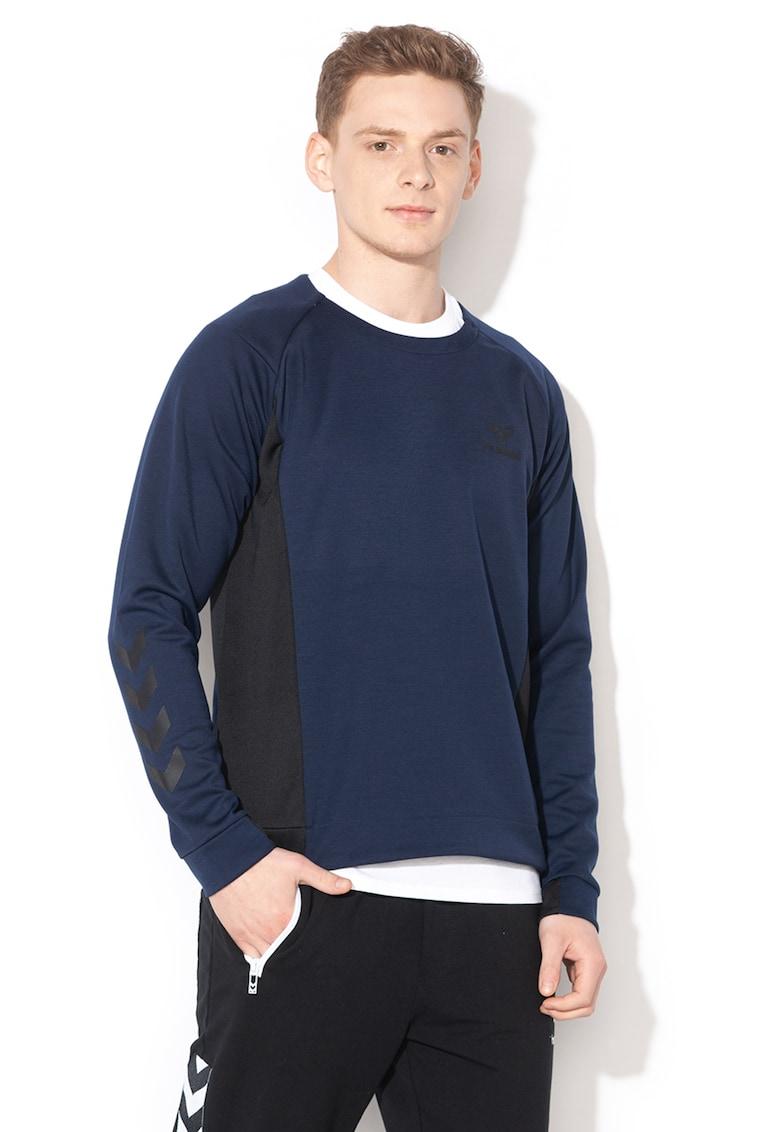 Bluza sport cu fermoar si logo cauciucat - pentru antrenament Ollie