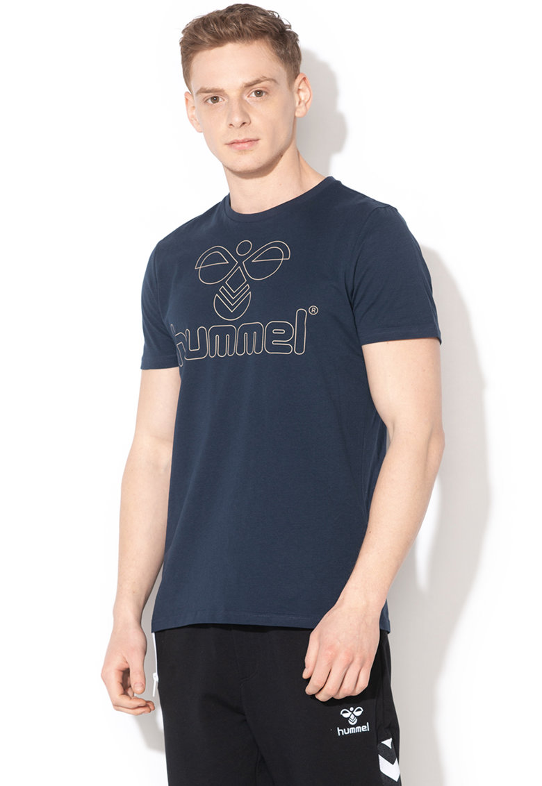 Tricou cu imprimeu logo Ethan