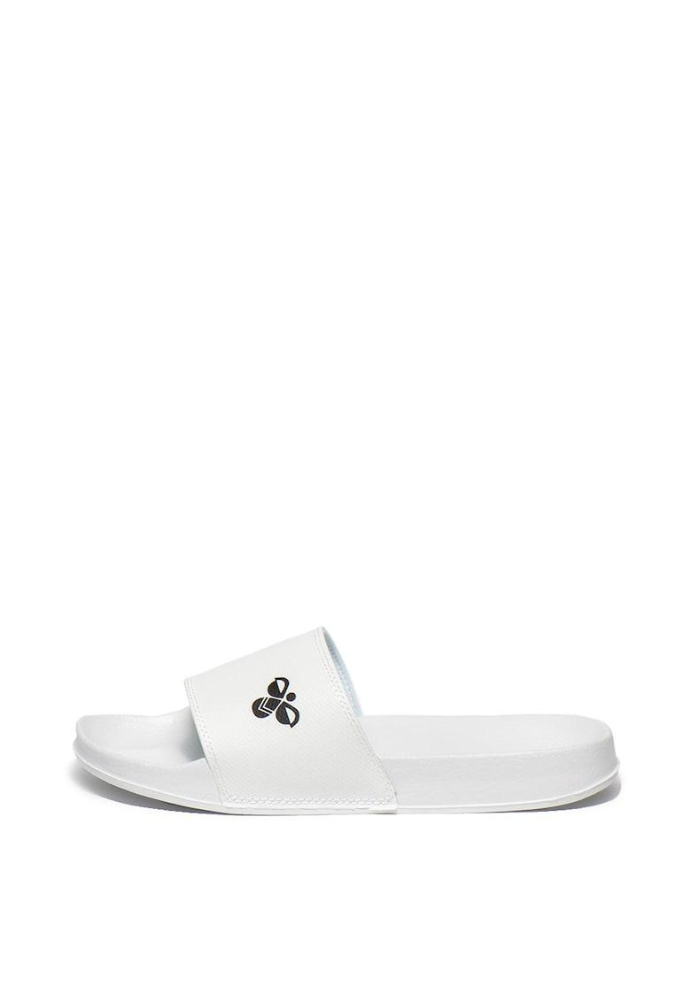 Papuci cu imprimeu logo