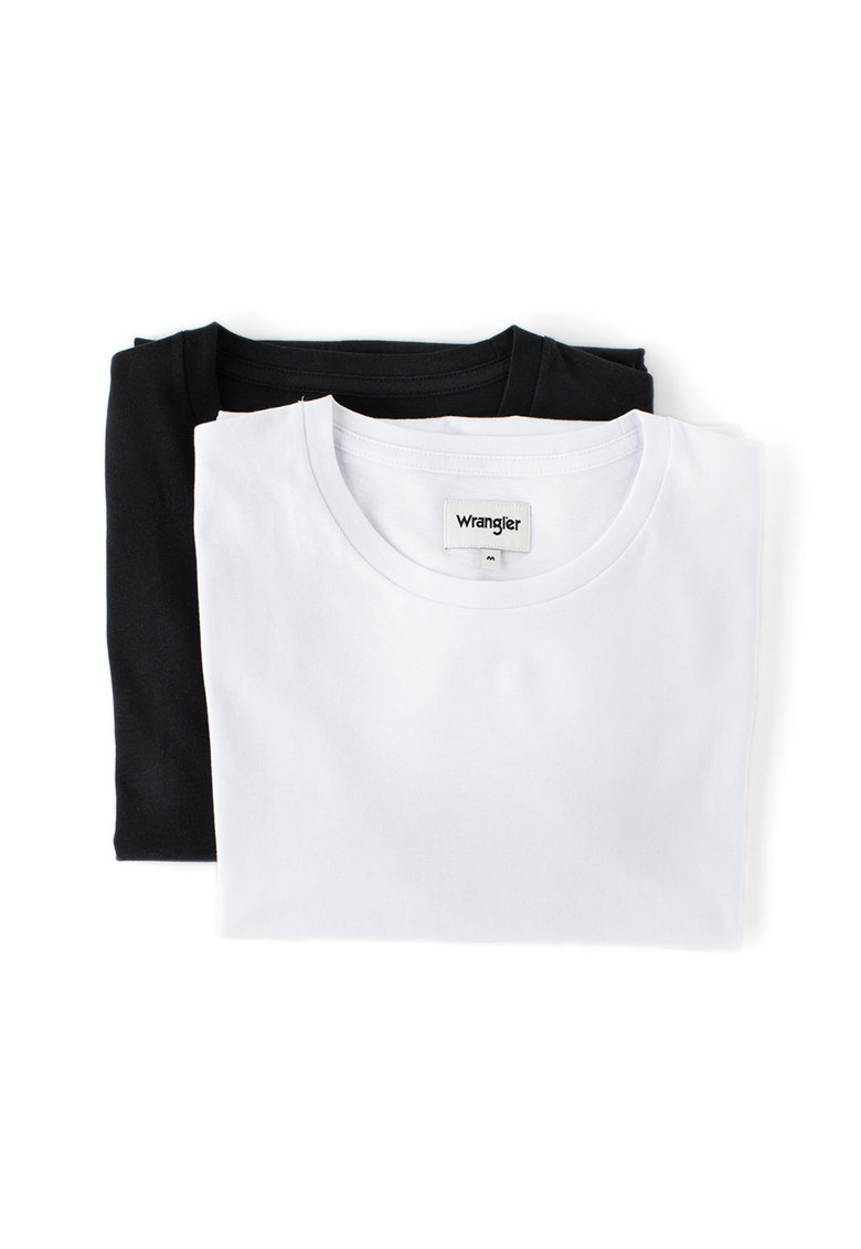 Set de tricouri cu decolteu rotund - 2 piese