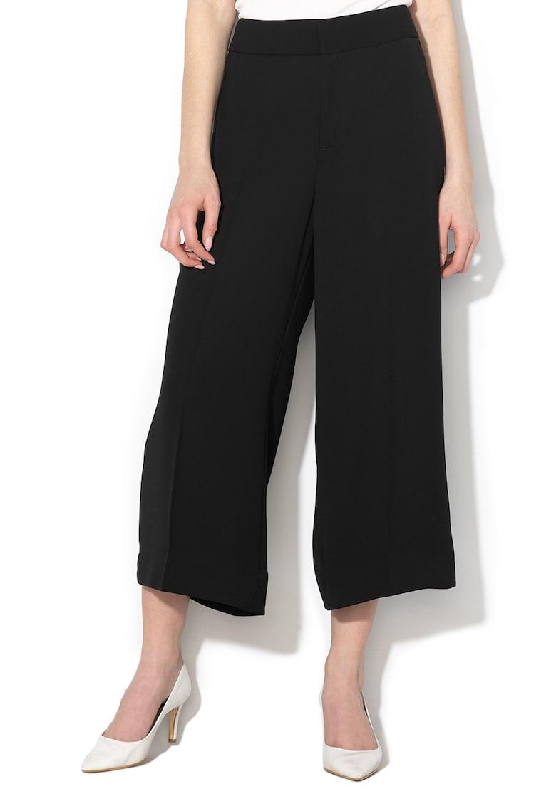 Pantaloni culotte cu buzunare oblice de la Banana Republic