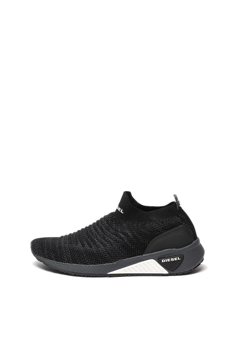 Pantofi sport slip-on tip soseta din material textil