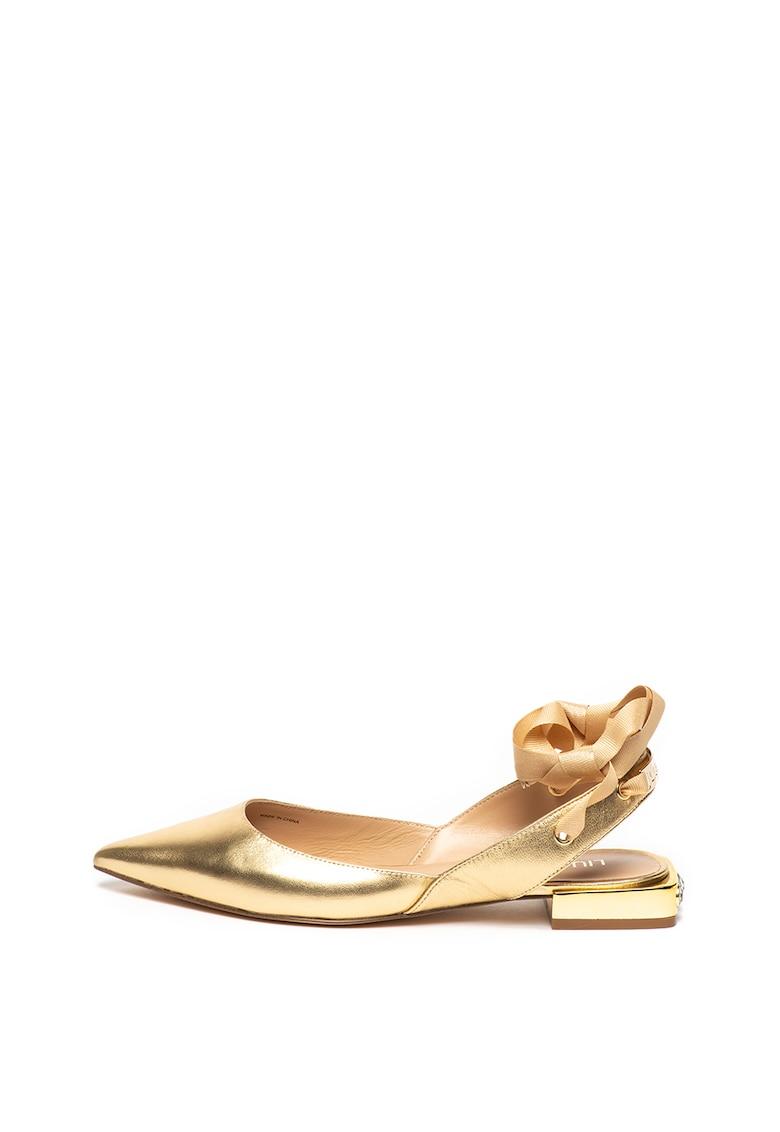 Pantofi slingback de piele Viky