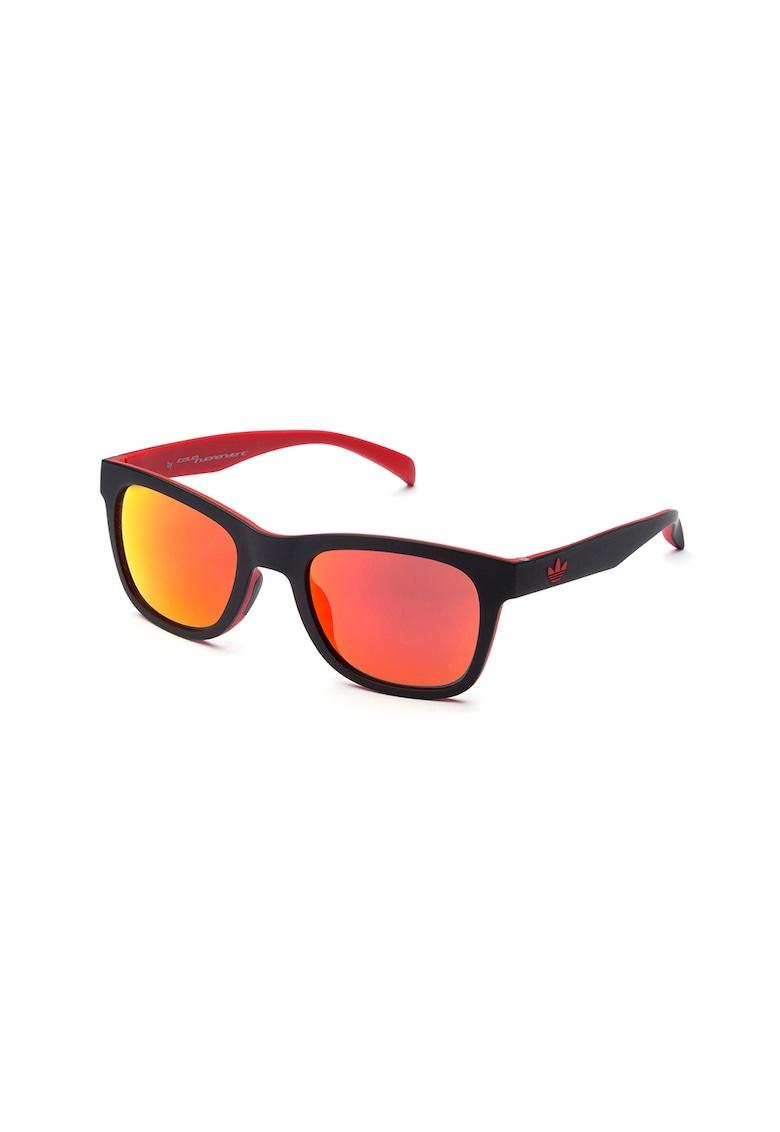 Ochelari de soare patrati cu lentile oglinda imagine
