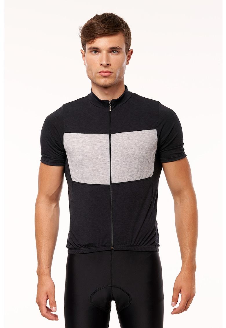 NORTHFINDER Tricou cu fermoar – pentru ciclism Judah