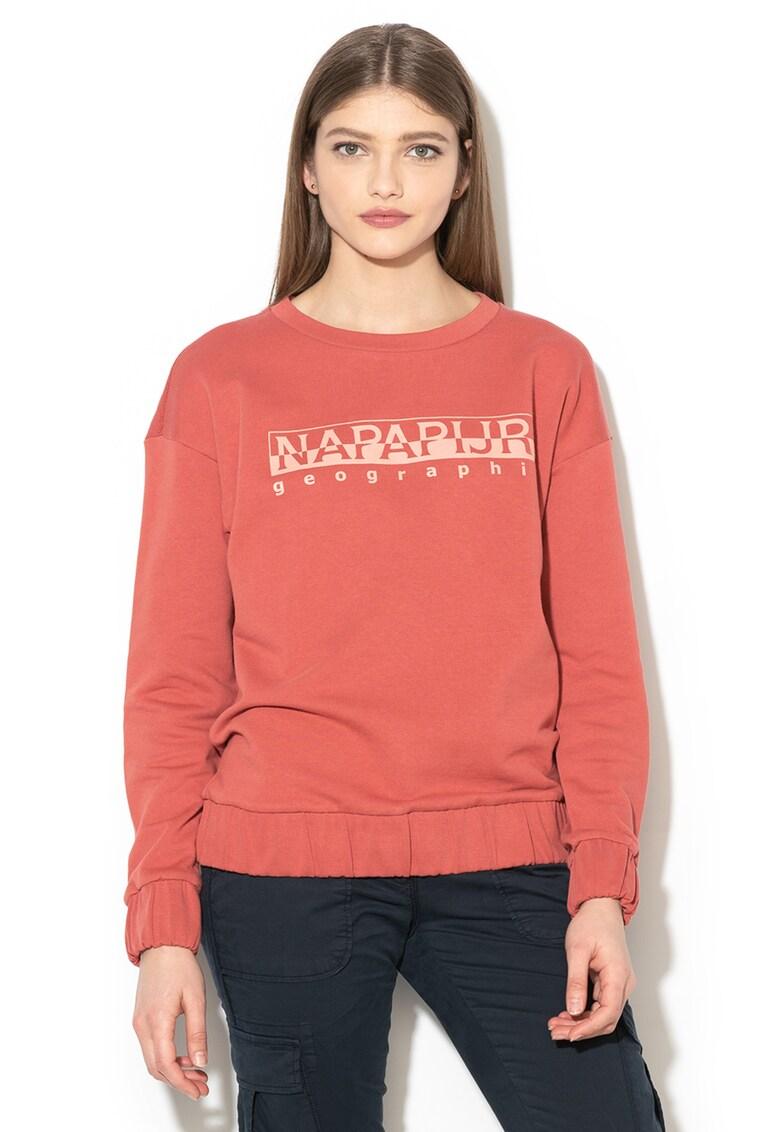Bluza cu imprimeu logo Bevora