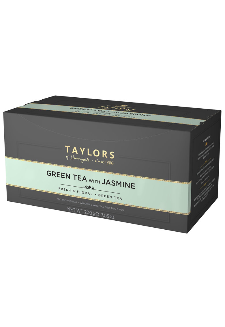 Ceai Verde cu Iasomie 100 pliculete - 200 gr. imagine