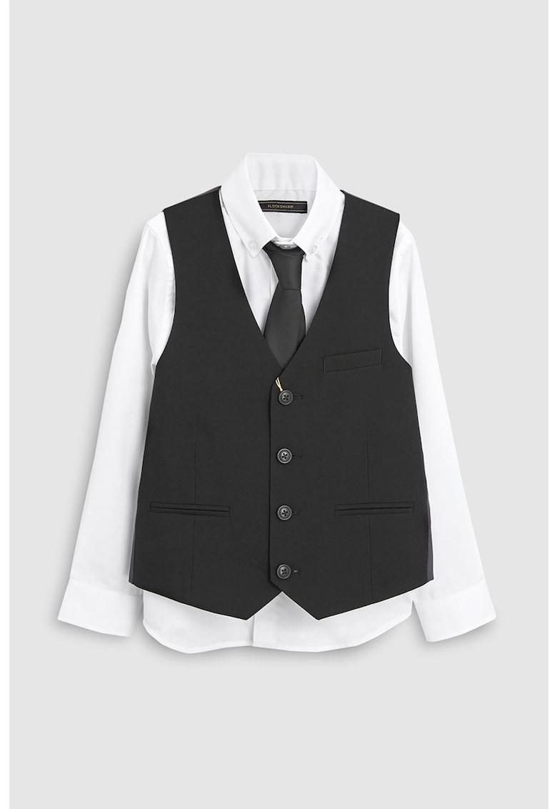 Set de vesta si camasa – accesorizat cu o cravata de la NEXT