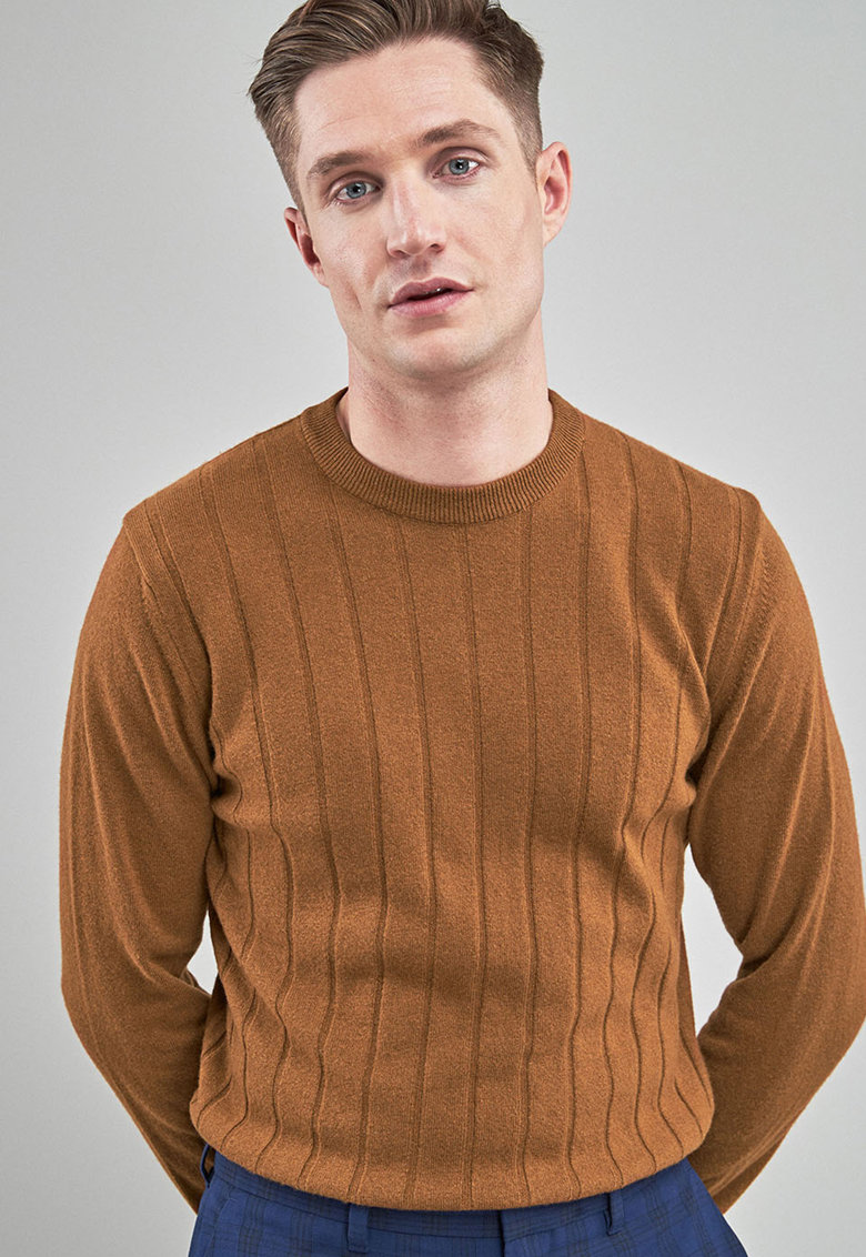 Pulover striat din amestec de lana de la NEXT