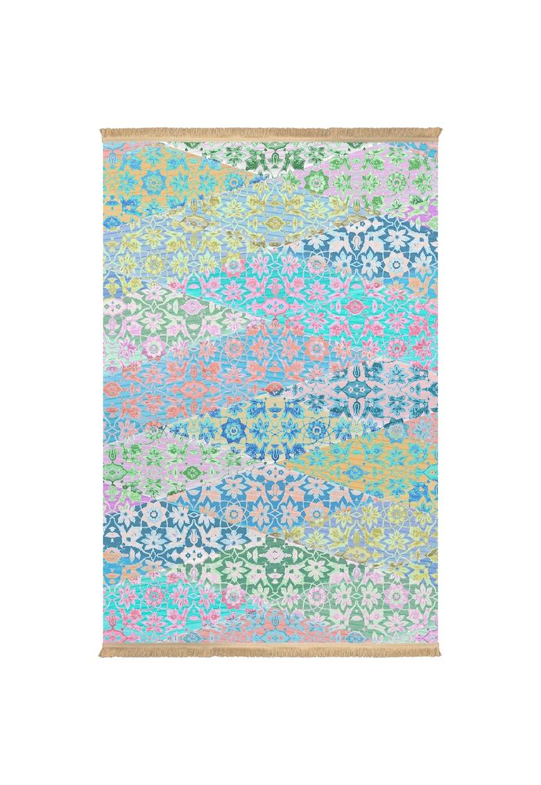 Covor fibre sintetice - trafic intens - Multicolor - 100531 poza fashiondays