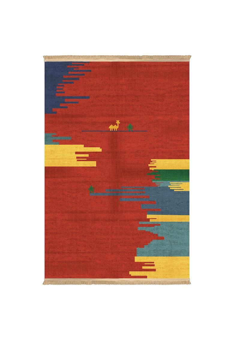 Covor fibre sintetice - trafic intens - Multicolor - 100718