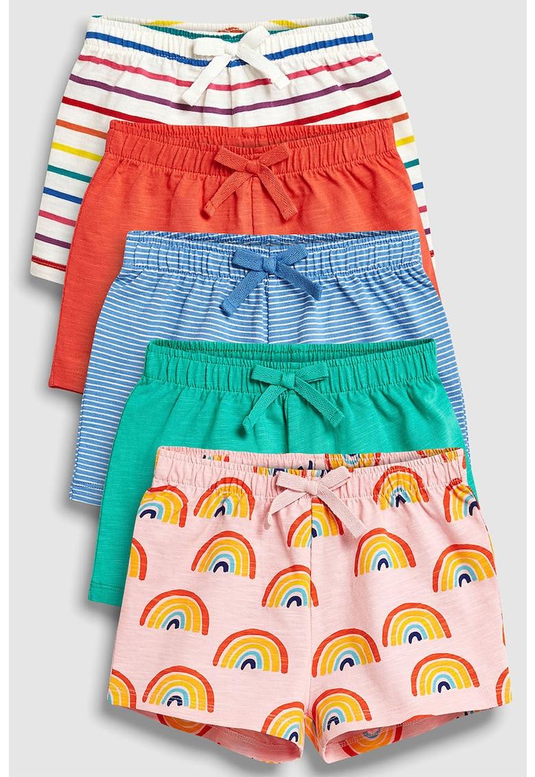 Set de pantaloni scurti cu imprimeu - 5 perechi