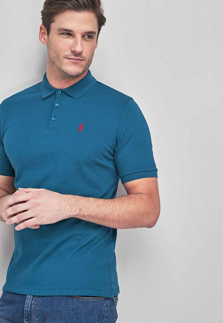 Tricou polo regular fit NEXT