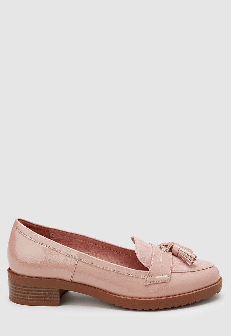Pantofi loafer de piele ecologica de la NEXT