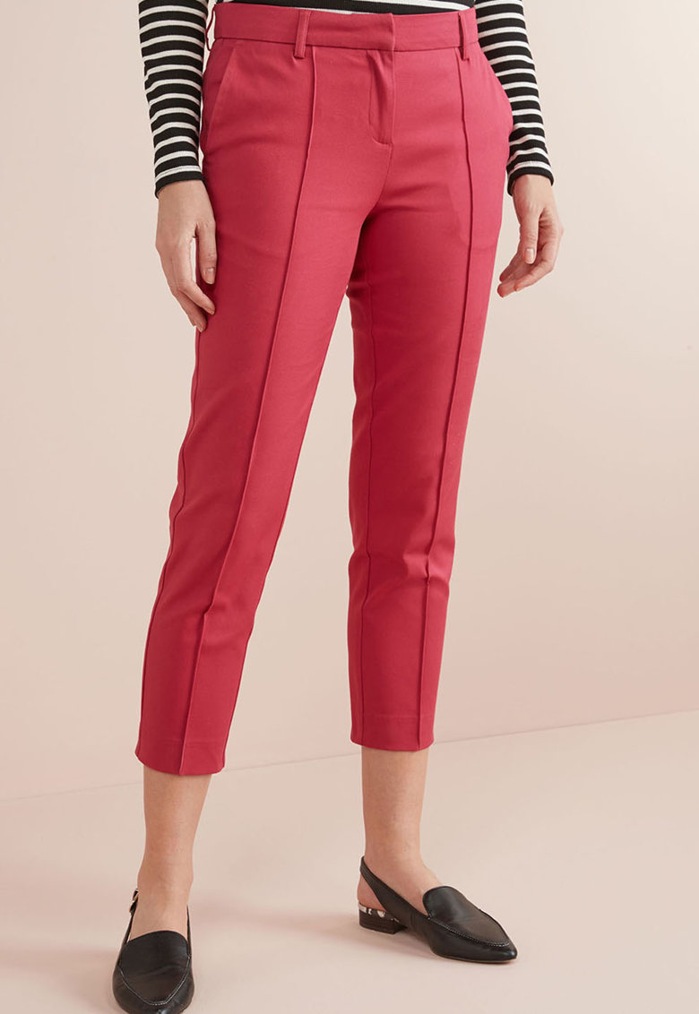 Pantaloni crop cu croiala conica de la NEXT