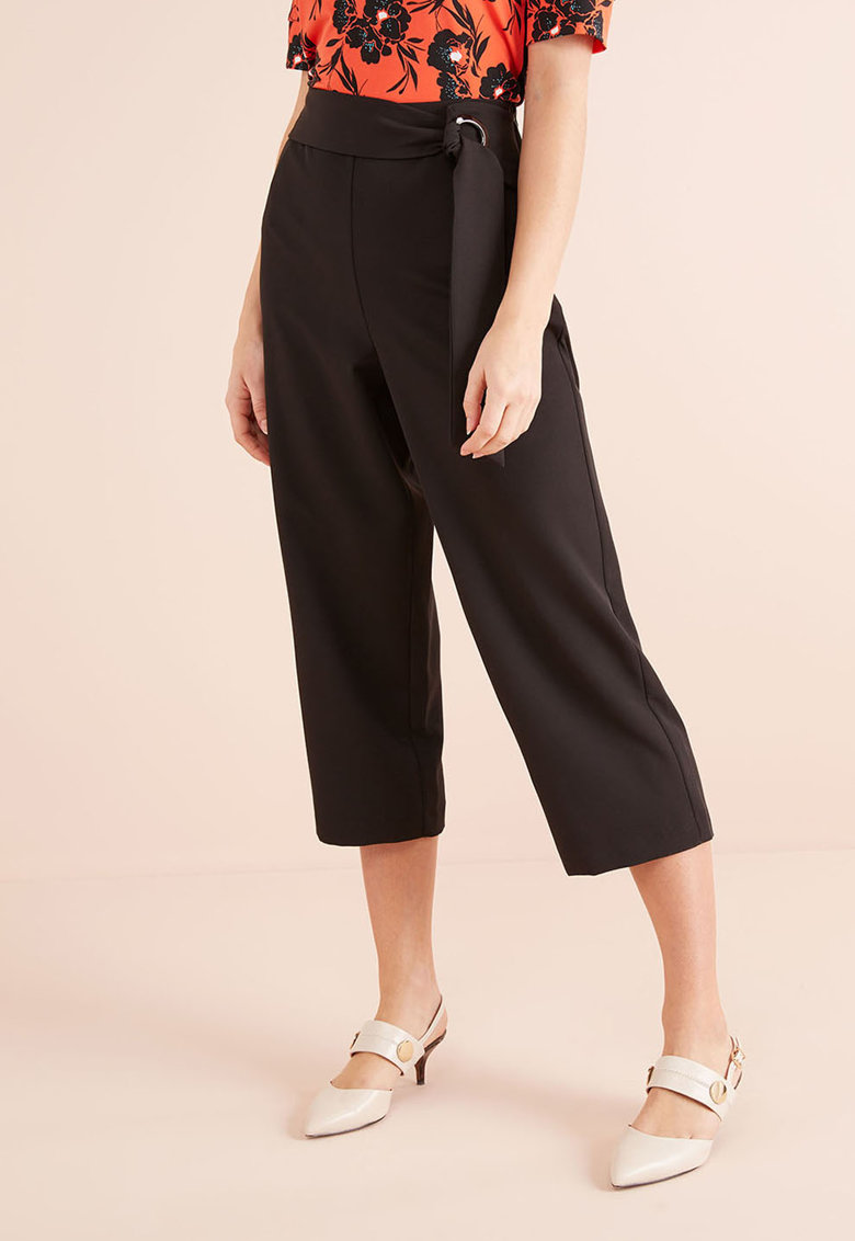Pantaloni crop cu croiala ampla de la NEXT