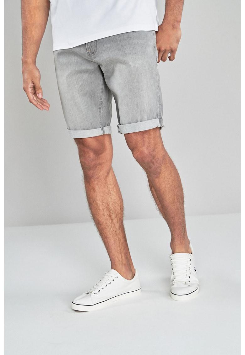 Pantaloni scurti de denim – cu croiala dreapta NEXT