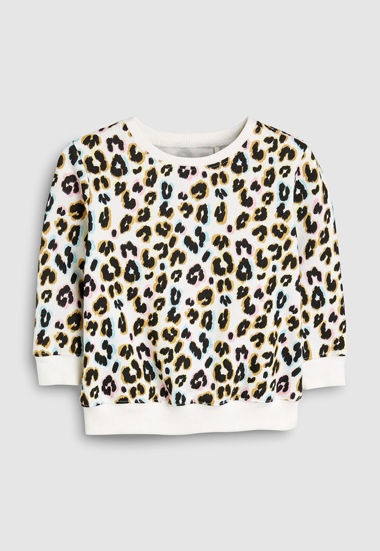 Bluza sport cu model animal print