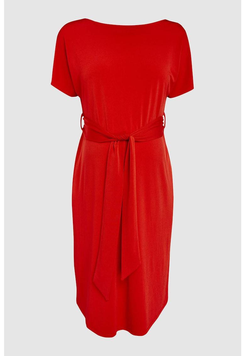 Rochie midi cu cordon - pentru gravide