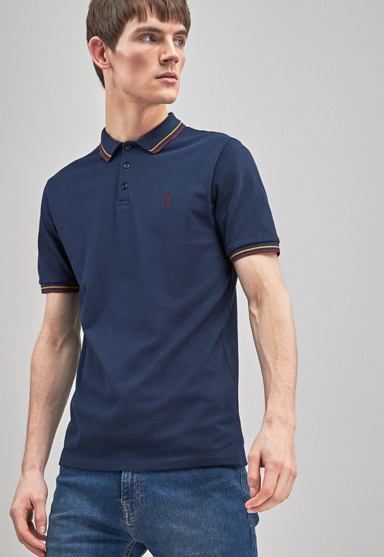 NEXT Tricou polo slim fit