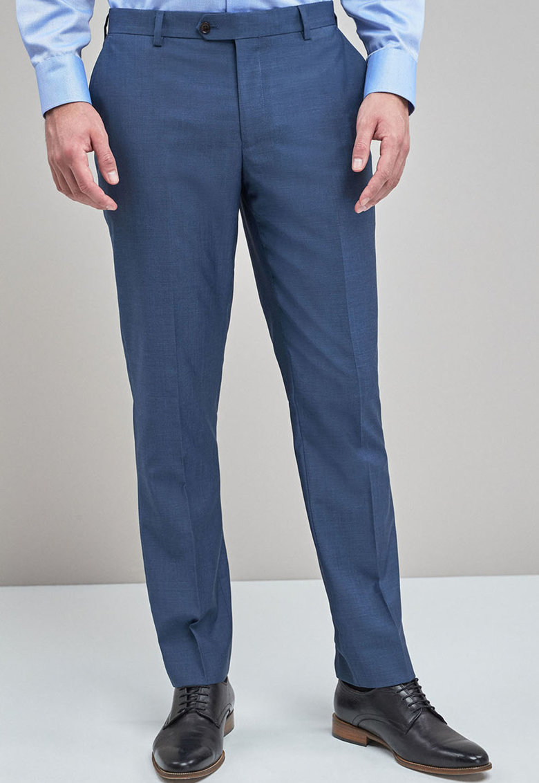 Pantaloni tailored fit eleganti din lana de la NEXT