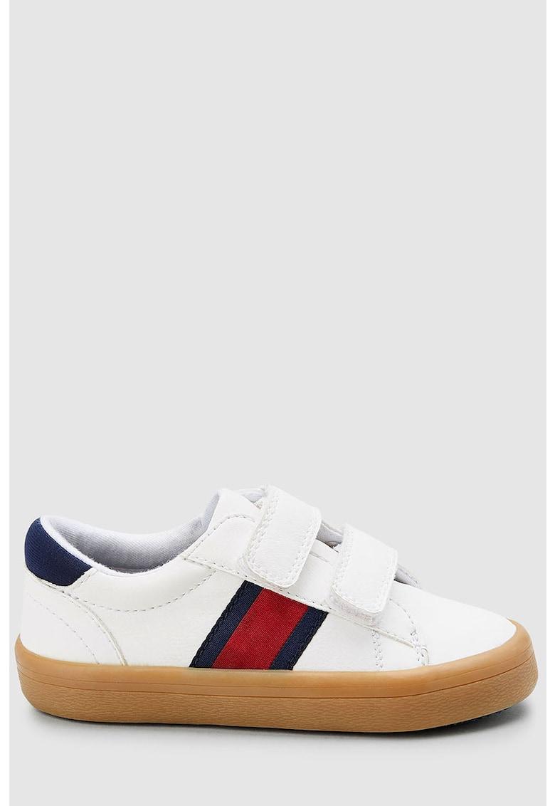 Pantofi sport de piele ecologica cu velcro NEXT