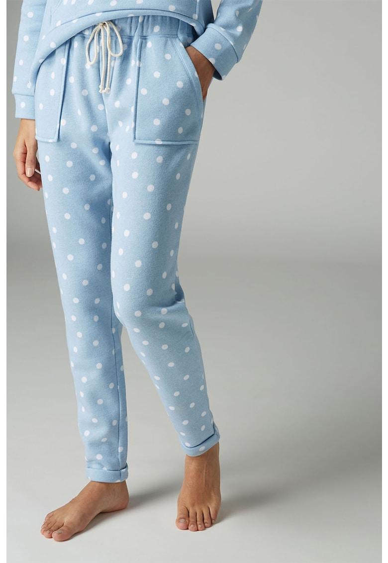 Pantaloni sport de casa – cu buline de la NEXT
