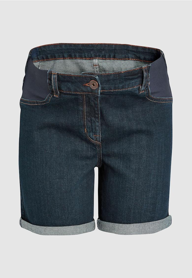 Pantaloni scurti de denim - pentru gravide