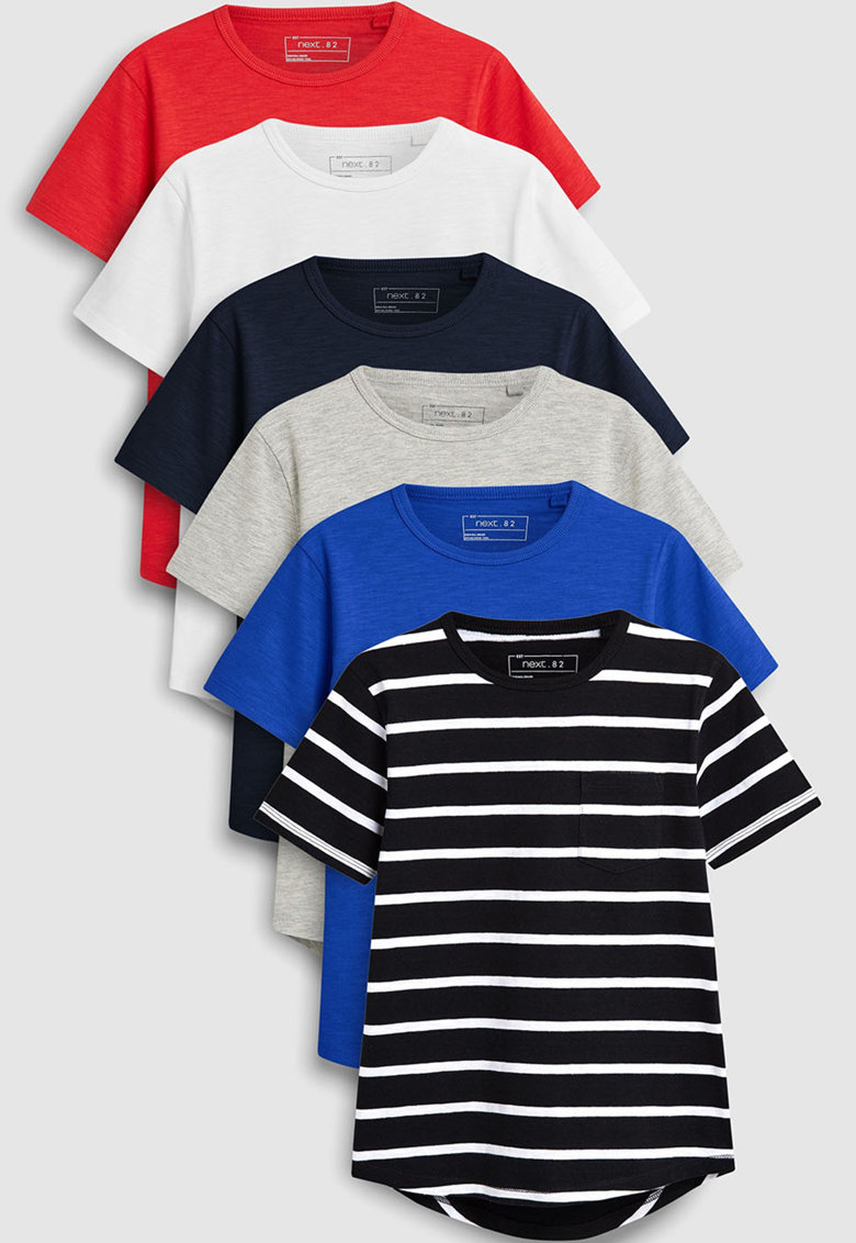 NEXT Set de tricouri - 6 piese
