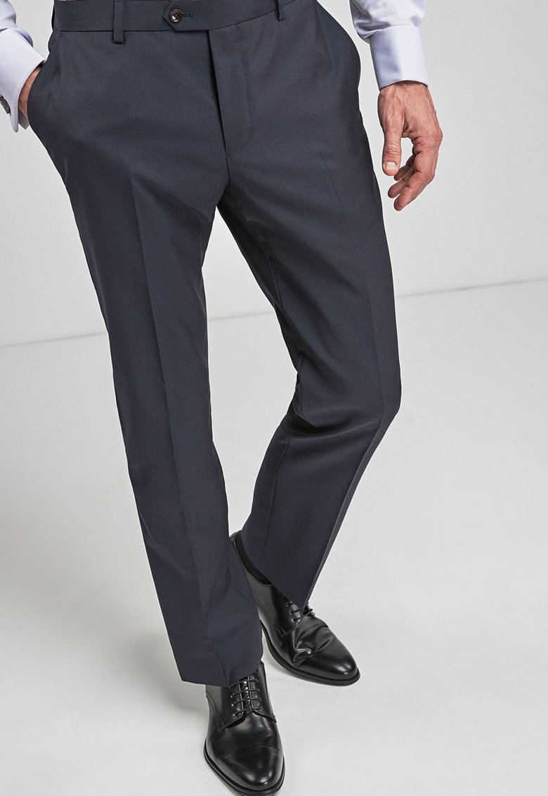NEXT Pantaloni eleganti regular fit de lana