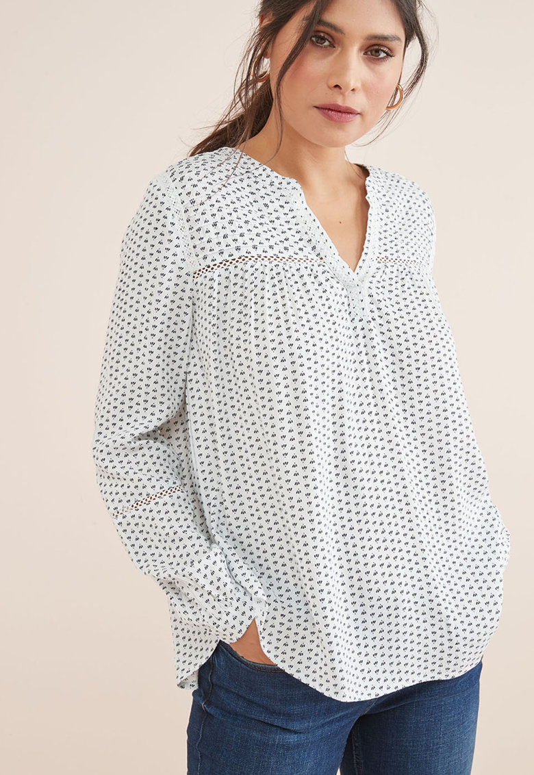 Bluza cu imprimeu grafic