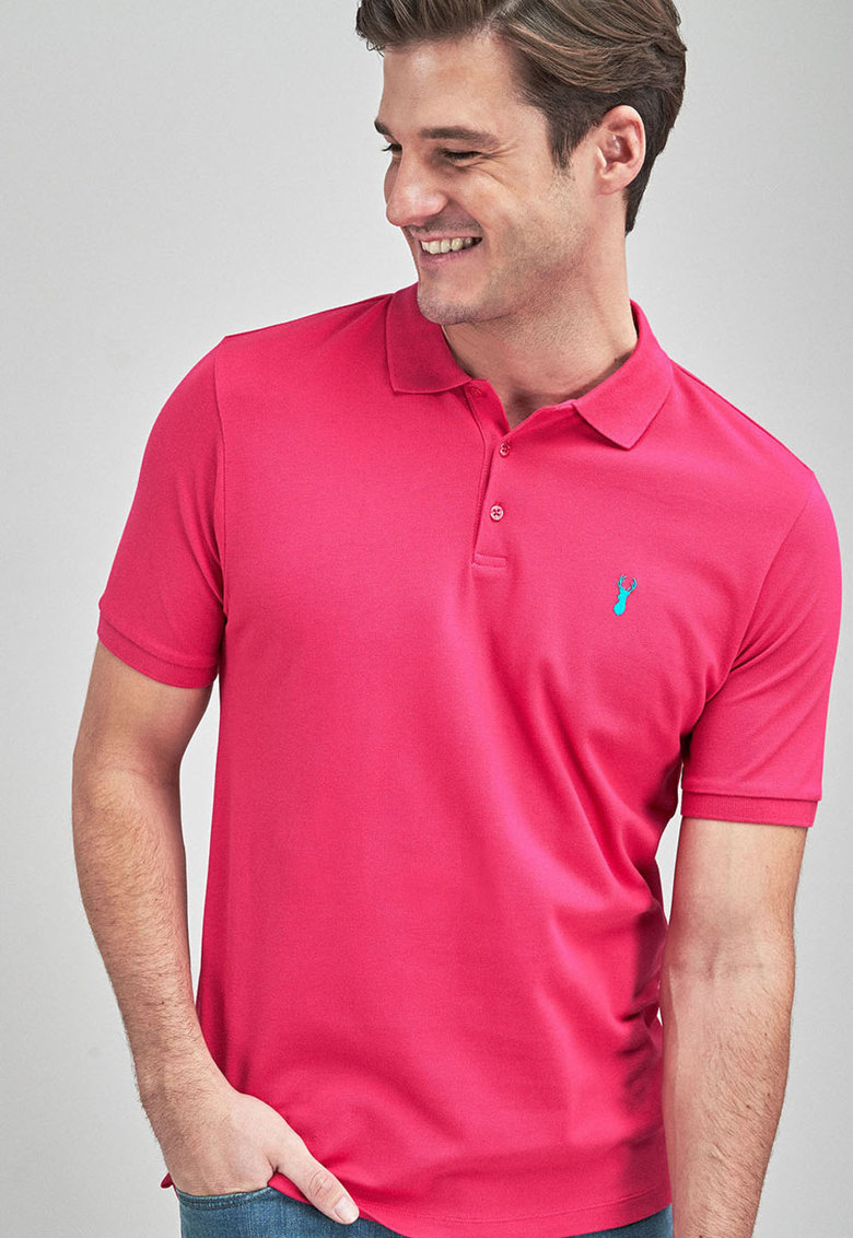 NEXT Tricou polo regular fit - din pique