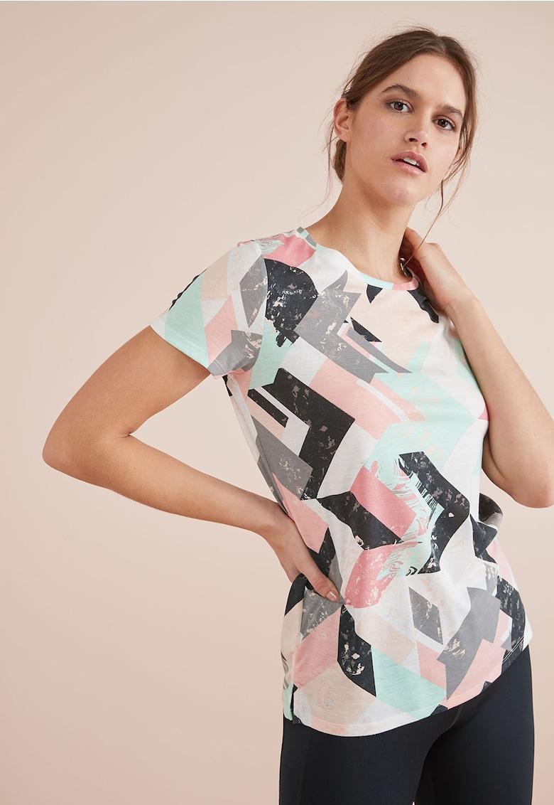 Tricou cu imprimeu geometric de la NEXT