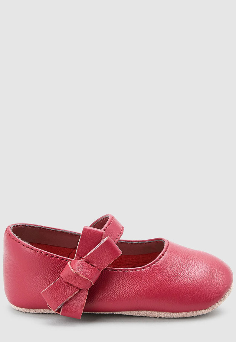 Pantofi Mary-Jane de piele – cu velcro NEXT