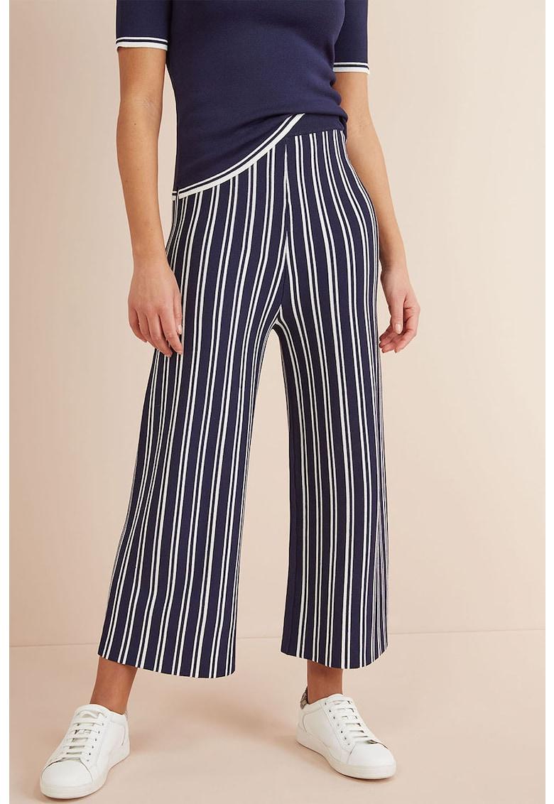 Pantaloni culotte de jerseu in dungi NEXT
