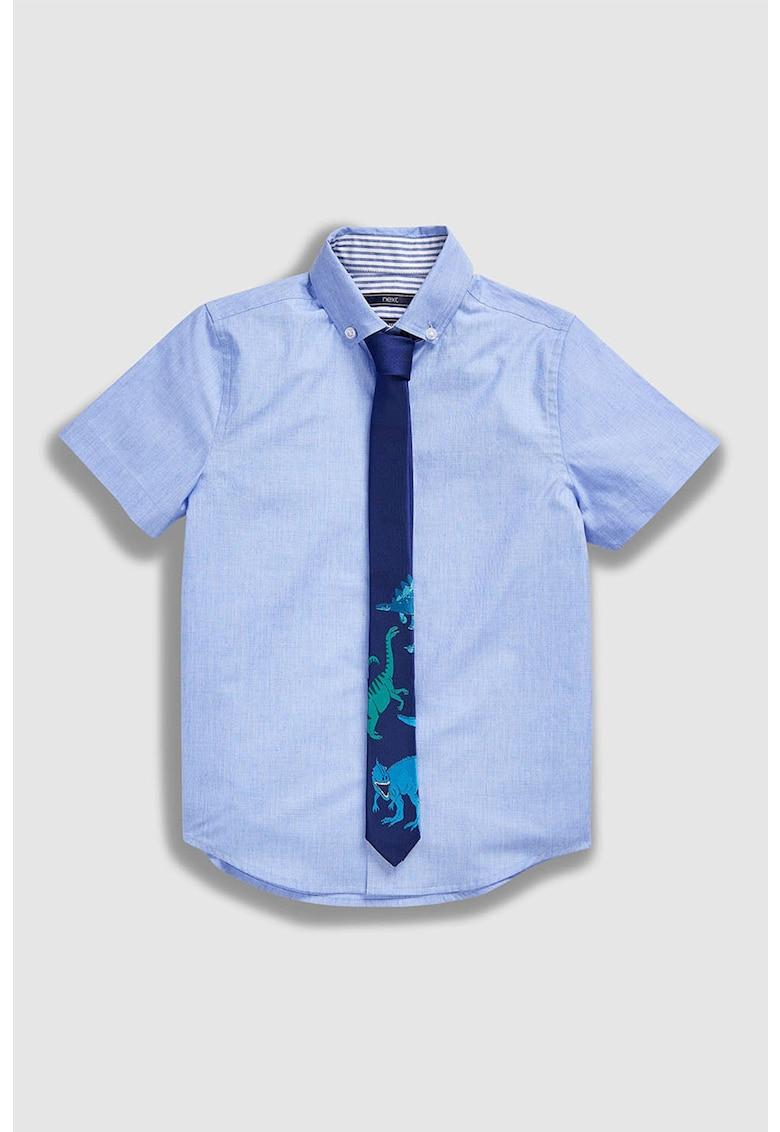 NEXT Set de camasa cu maneci scurte si cravata