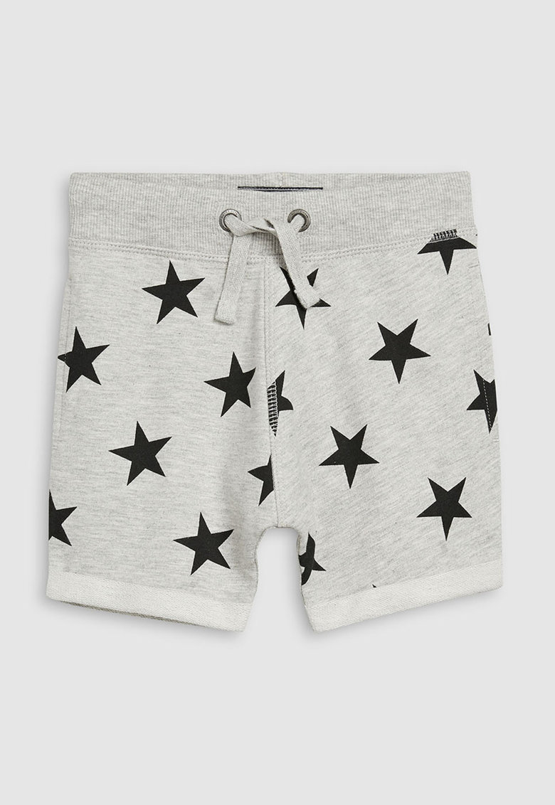 Pantaloni scurti cu imprimeu stea