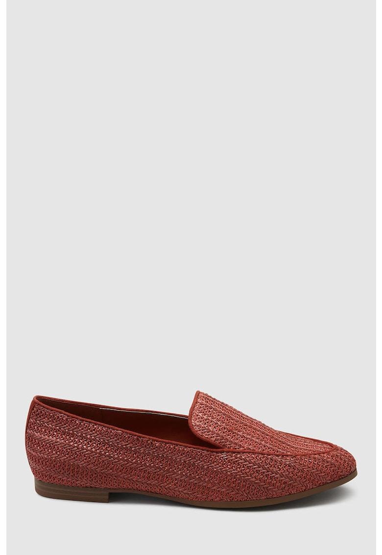 NEXT Pantofi loafer cu varf migdalat