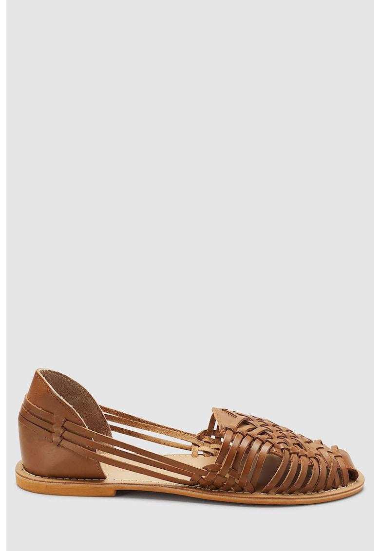 Sandale Huaraches de piele NEXT