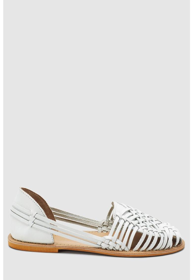 Sandale huaraches de piele