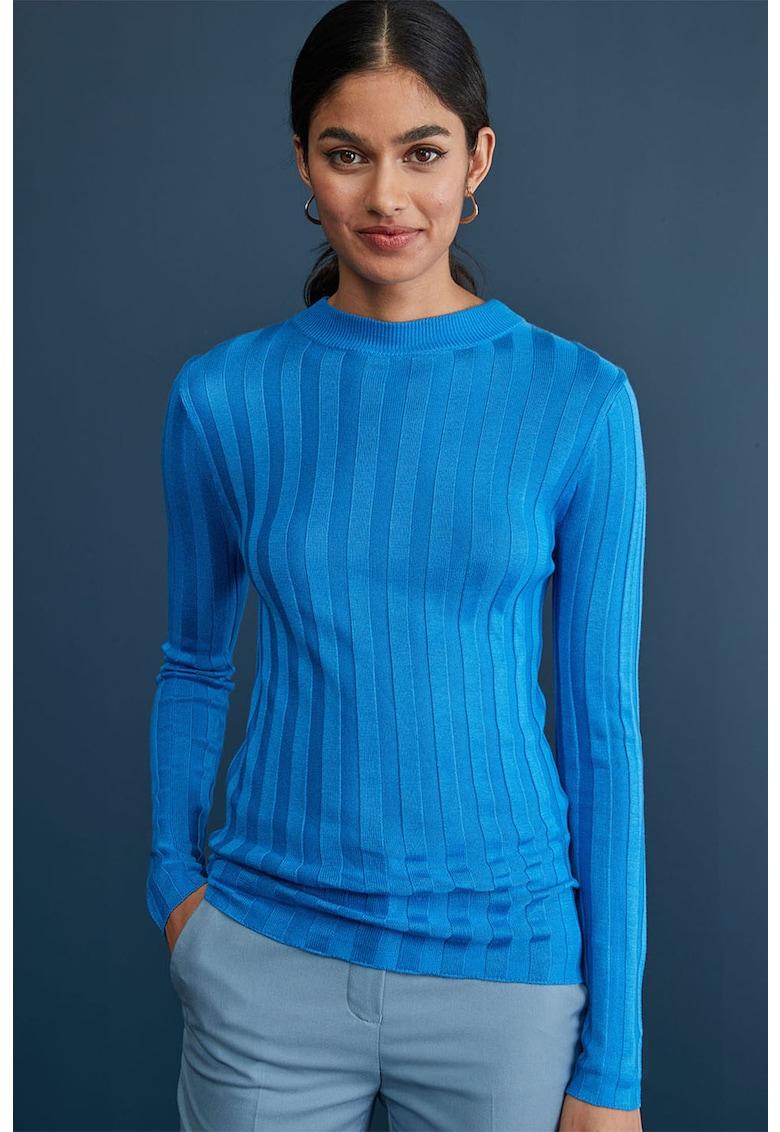 Bluza cu decolteu la baza gatului cu aspect texturat de la NEXT