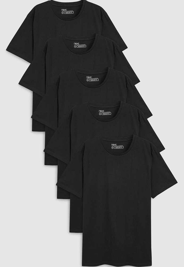 Set de tricouri regular fit – 5 piese de la NEXT