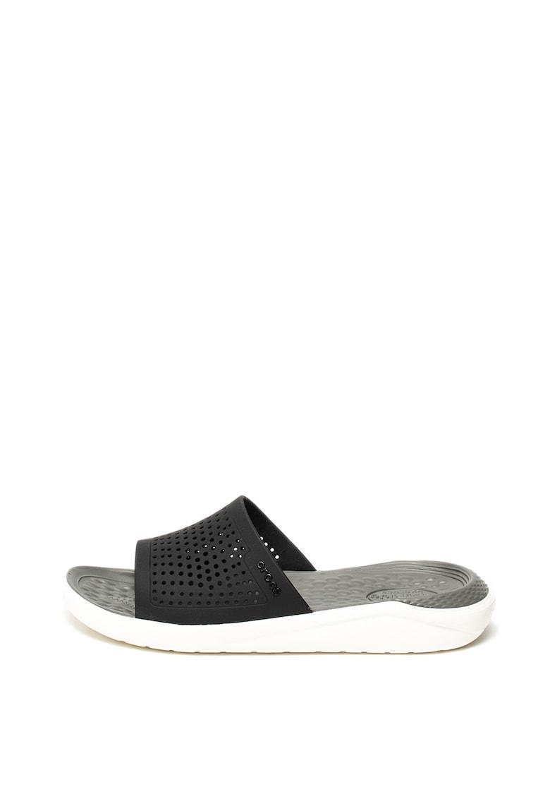 Papuci de cauciuc cu detalii perforate imagine fashiondays.ro 2021