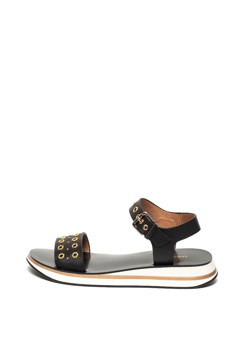 Sandale de piele ecologica Sabine