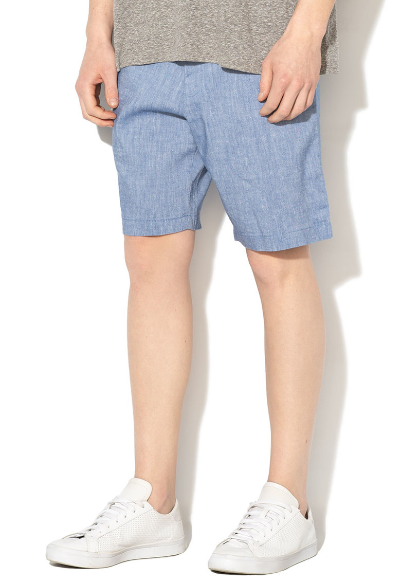 Pantaloni scurti din amestec de in Aiden
