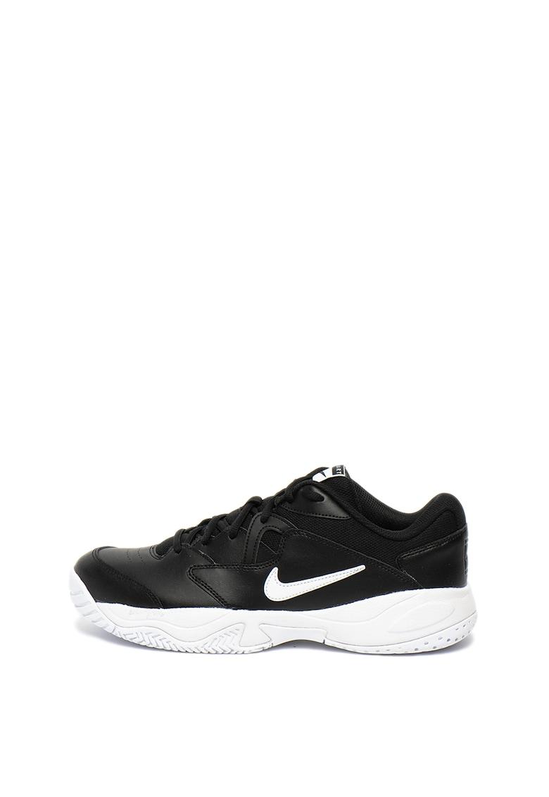 Pantofi cu garnituri de piele - pentru tenis Court Lite 2