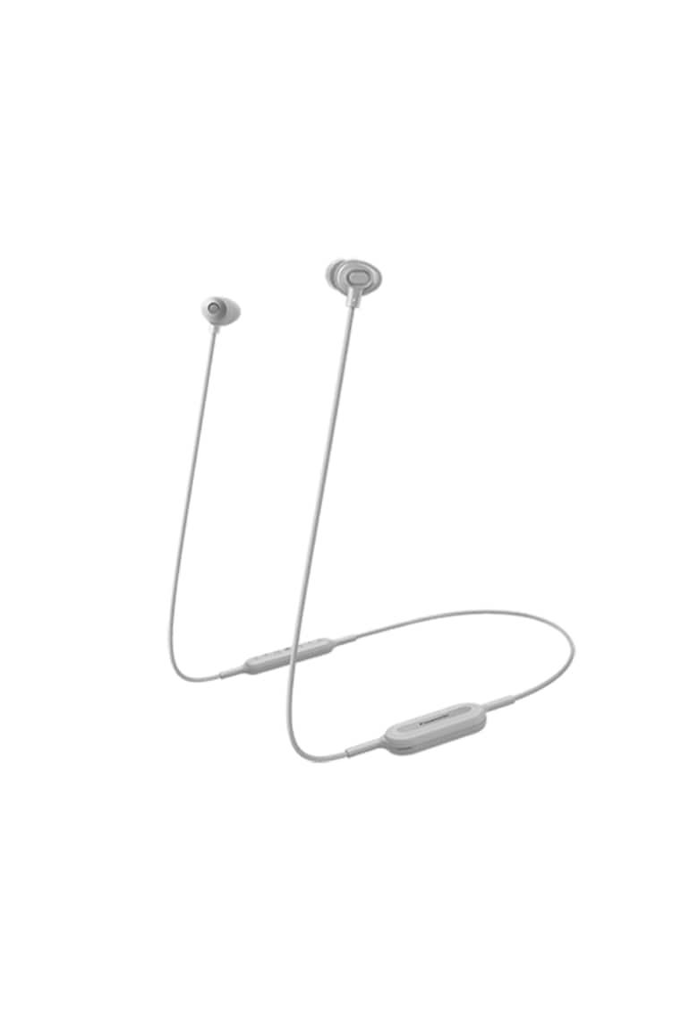 Casti Bluetooth in ear RP-NJ310BE - sunet dinamic - bas amplificat si puternic XBS - telecomanda subtire cu microfon - autonomie 6h - incarcare rapida