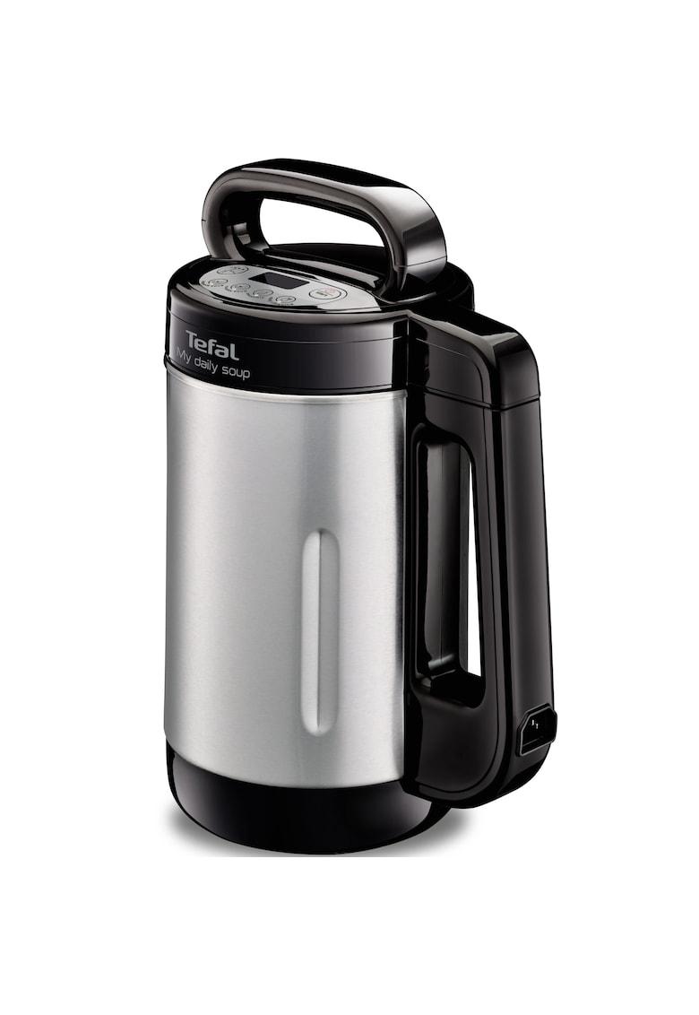 Tefal Blender cu functie de gatire   My Daily Soup - 1000 W - 1.2 L - 4 programe automate - Inox/Negru