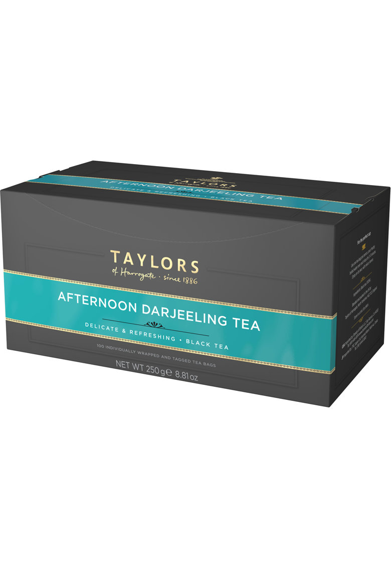 Ceai Negru Afternoon Darjeeling - 100 pliculete ambalate individual - 250 gr. imagine