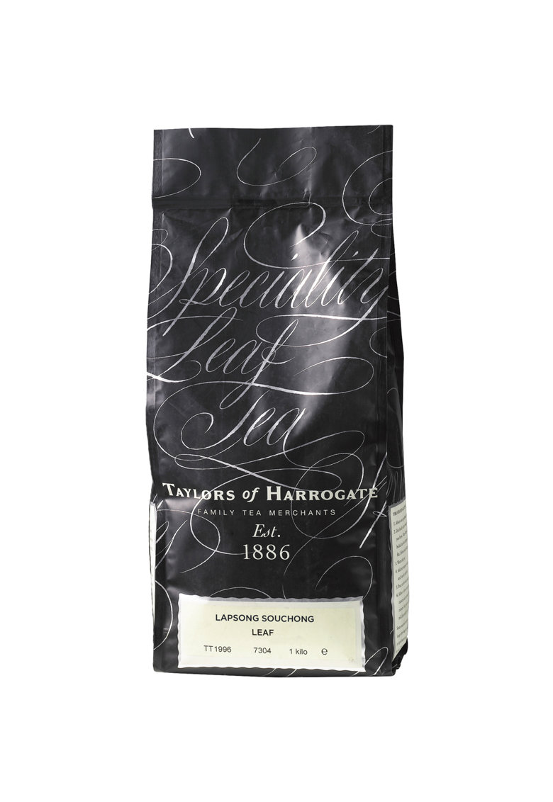 Ceai Negru Afumat Lapsang Souchong - Frunze - 1 kg. imagine